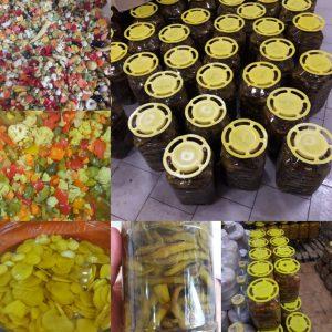 فروش ترشی عمده عراقی در انواع بسته بندی